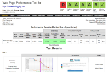 How to Read WebPageTest Results and Improve Your Blog's Speed
