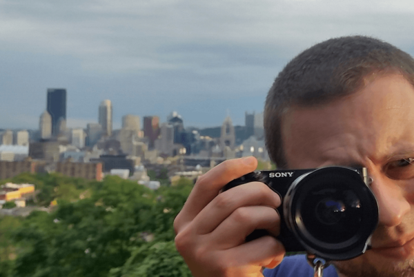 Jeremy Taking a Photo