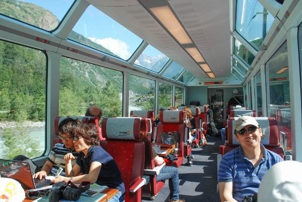 Panorama Trains Switzerland