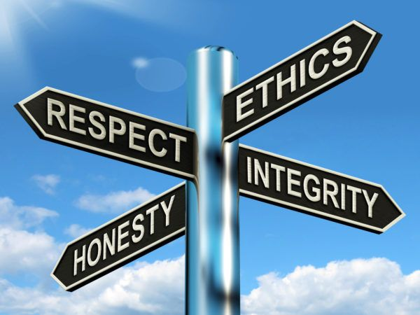 Be ethical upfront