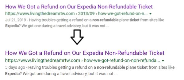 Removing Dates from URL Slug